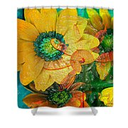 Summers Soup Shower Curtain