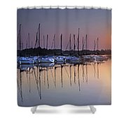 Summertime Sailing Shower Curtain