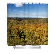 Summit Peak Autumn 11 Shower Curtain