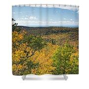 Summit Peak Autumn 16 Shower Curtain