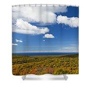 Summit Peak Autumn 8 Shower Curtain