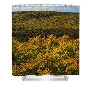 Summit Peak Autumn 9 Shower Curtain