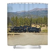 Sumpter Valley Railroad Shower Curtain