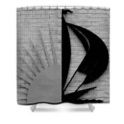 Sun And Sail Shower Curtain