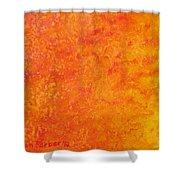 Sun Energy Shower Curtain