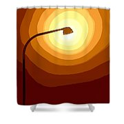 Sun-light Shower Curtain