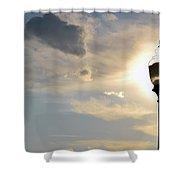Sun-light Shower Curtain