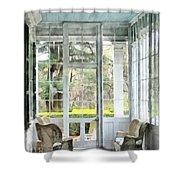 Sun Porch Shower Curtain