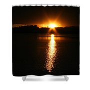 Sun Ray Shower Curtain