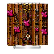 Sun Rose Garden Shower Curtain