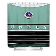Sunbeam Rootes Group Vintage Car Shower Curtain
