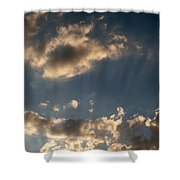 Sunbeams From Heaven Shower Curtain