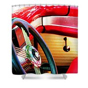 Sunday Driver Shower Curtain