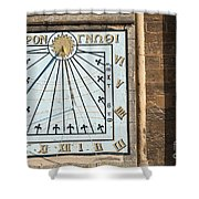 Sundial Shower Curtain