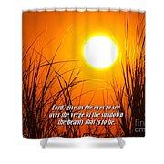 Sundown Beauty Shower Curtain