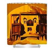 Sundown Chimayo Shower Curtain