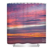 Sundown In Dunedin Shower Curtain