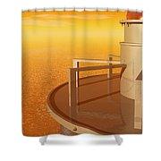 Sundustrial Shower Curtain