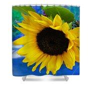 Sunflower Too Shower Curtain