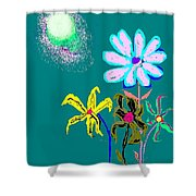 Sunflower Two Shower Curtain