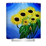 Sunflowers 1 Shower Curtain