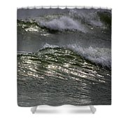 Sunlight And Waves 1 Shower Curtain