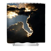 Sunlit Brilliance Shower Curtain