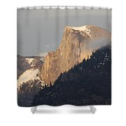 Sunlit Half Dome Shower Curtain