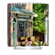 Sunny Afternoon New Castle De Shower Curtain