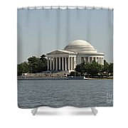 Sunny Jefferson Shower Curtain