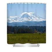 Sunny Rainier Shower Curtain