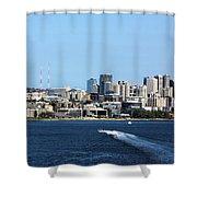 Sunny Seattle Shower Curtain