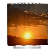 Sunny Side Upward Shower Curtain