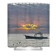Sunrise - Puerto Morelos Shower Curtain
