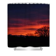 Sunrise 01 10 12 Shower Curtain