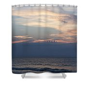 Sunrise And Surf Shower Curtain