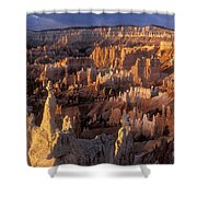 Sunrise At Brice Canyon Amphitheatre Shower Curtain