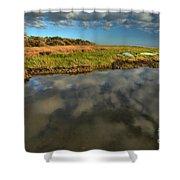 Sunrise At Brooks Island Refuge Shower Curtain
