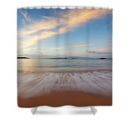 Sunrise At Cove Park Shower Curtain