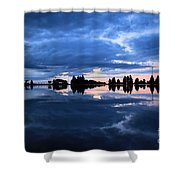 Sunrise At Lake Tahoe Shower Curtain