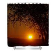 Sunrise At Maryhille  Shower Curtain