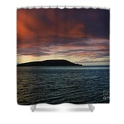 Sunrise At Portlock Shower Curtain