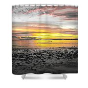 Sunrise At Sea 2 Shower Curtain