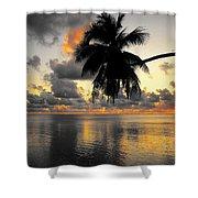 Sunrise At Sea 3 Shower Curtain