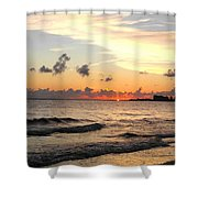 Sunrise At Sea 4 Shower Curtain