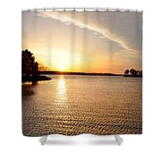 Sunrise At St Michaels Shower Curtain