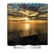 Sunrise At The Banks Shower Curtain