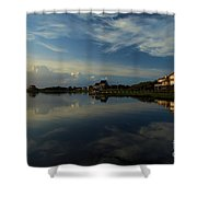 Sunrise At The Outer Banks Shower Curtain