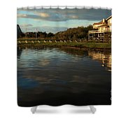 Sunrise At The Shore Shower Curtain