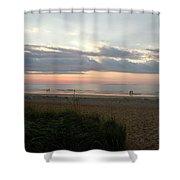 Sunrise Colors Of Maine Shower Curtain